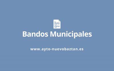 Bando Cierre de negocios – COVID19
