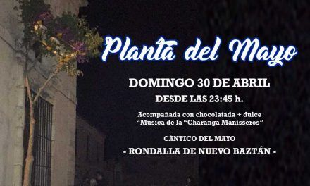 Domingo 30 de Abril, Plantá del Mayo