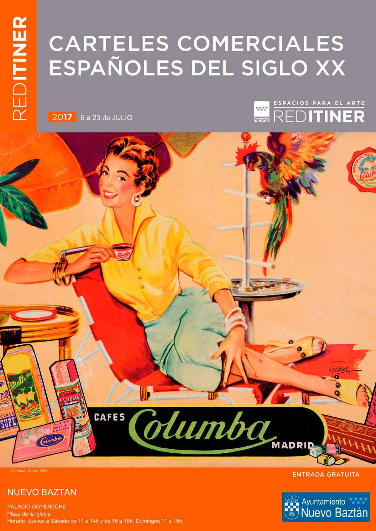 Nueva exposición de la RED ITINER: Carteles comerciales españoles del siglo XX