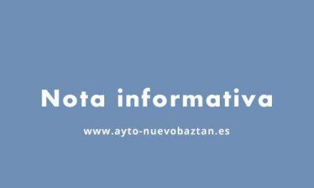 Nota informativa: Nieve en Nuevo Baztán, 10-1-2021
