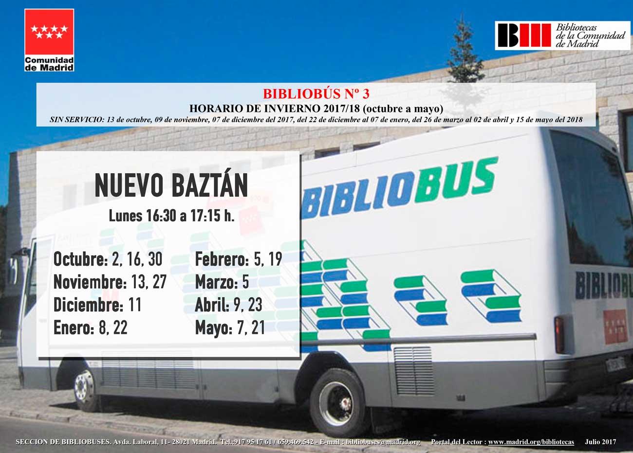 BiblioBus Invierno 2017/2018