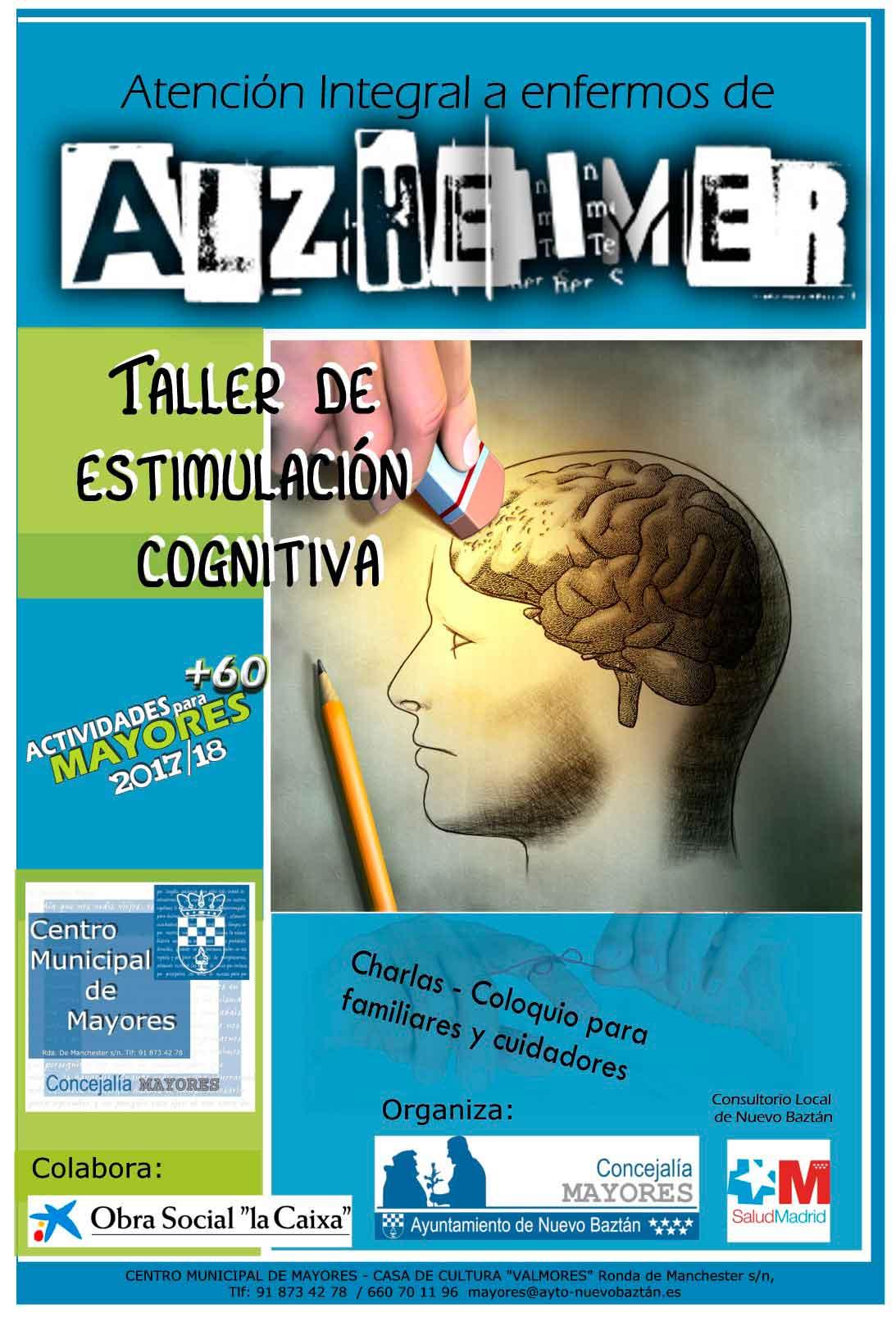 Cartel Taller de Alzheimer 2018