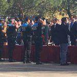 Dos agentes de la Policía Local de Nuevo Baztán, fueron distinguidos por parte de la Comandancia de la Guardia Civil