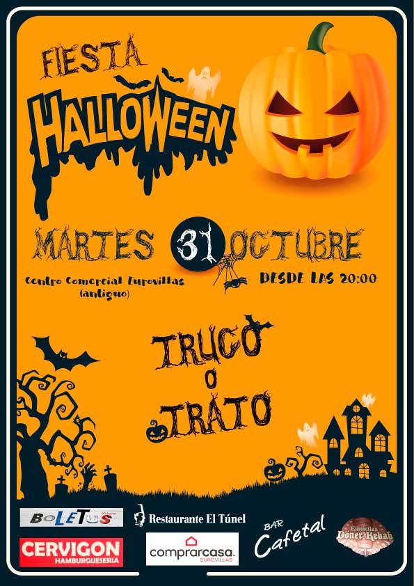 Fiesta Halloween Centro Comercial Eurovillas (antiguo)
