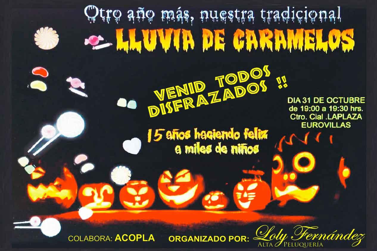 Lluvia de caramelos Loly Fernández