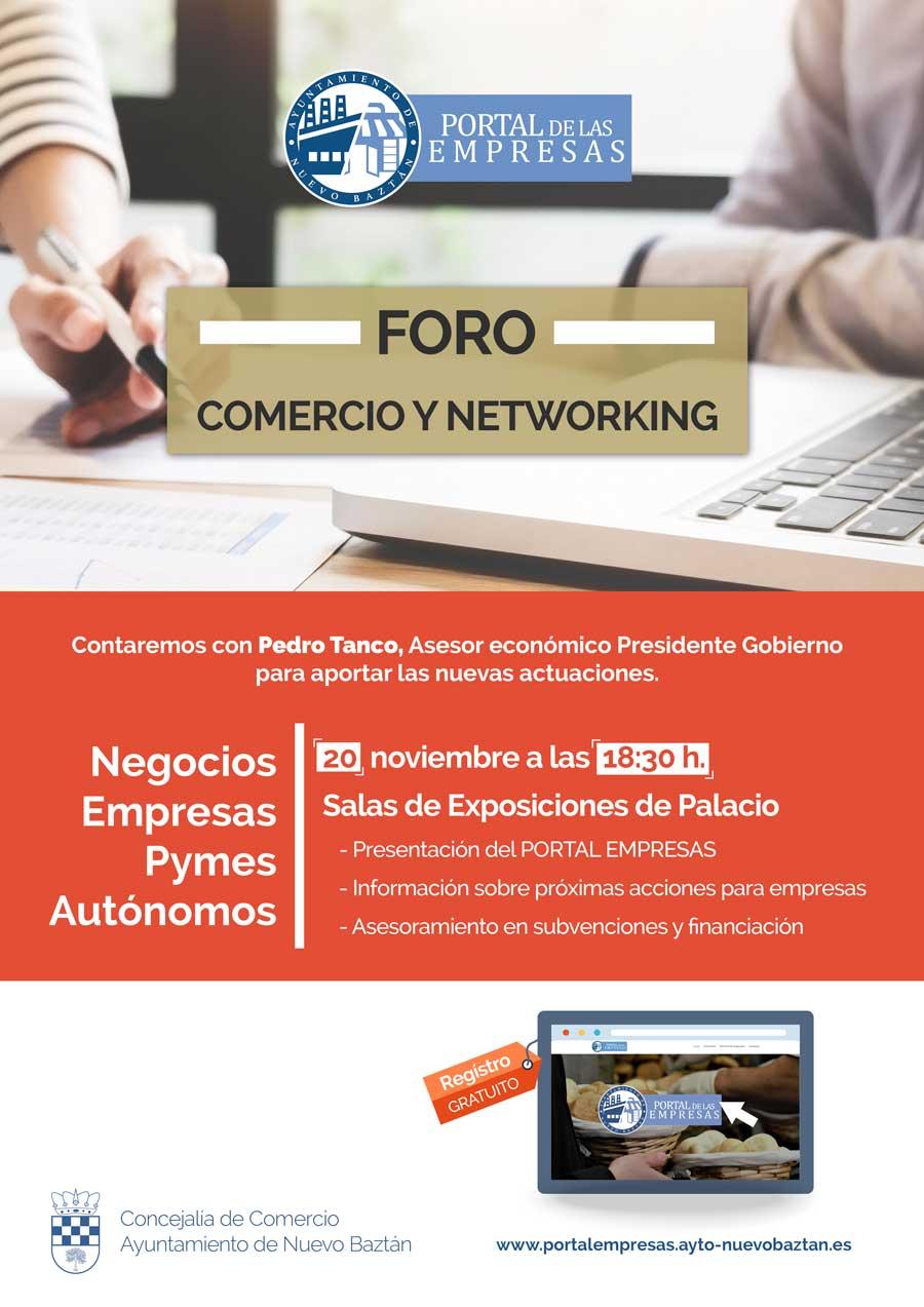 Foro Comercio y Networking