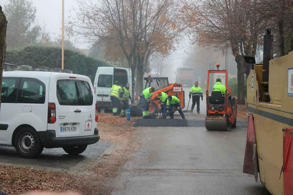 Arreglo de 53 resaltos en la Urbanización Eurovillas