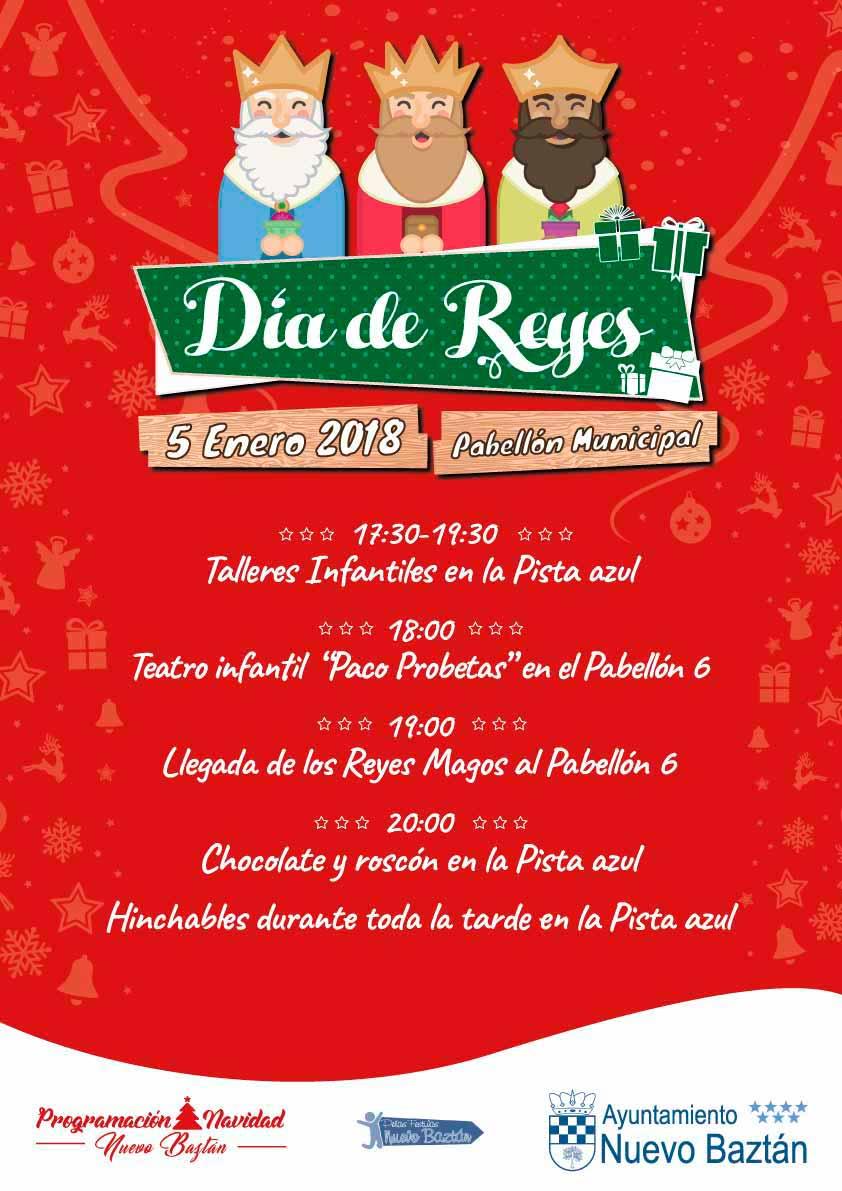 Programación Día de Reyes en Nuevo Baztán