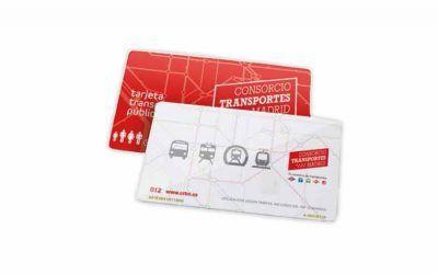 La tarjeta Multi, destinada a alojar los títulos de transporte no personales