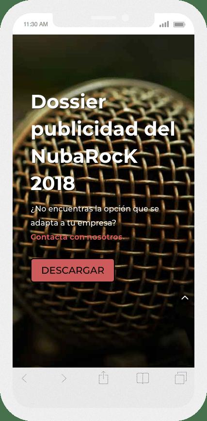 Nueva web del Festival NubaRocK