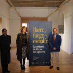 """Inaugurada la Exposición """"Barro, Fuego y Esmalte. La cerámica de Alcora en el S.XVIII"""