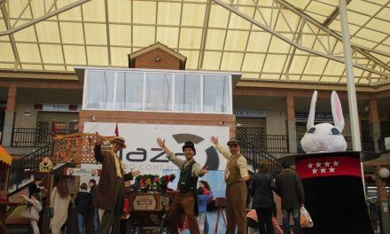 La campaña Comercios Mágicos visito Nuevo Baztán