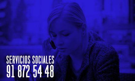 Ya disponible el teléfono fijo de Servicios Sociales  91 872 54 48