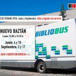 Horario Verano del BiblioBus en Nuevo Baztán