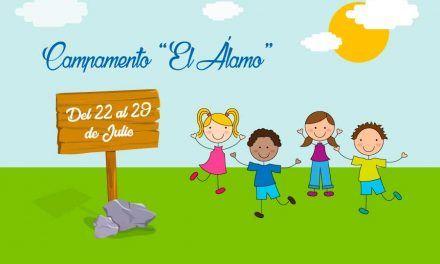 """Campamento de verano en """"El Alamo"""""""