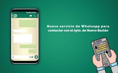 Nuevo servicio de Whatsapp del Ayuntamiento de Nuevo Baztán