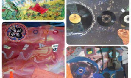 Exposición de pintura de los alumnos del taller de Susana Palacios