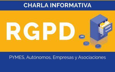 Charla informativa RGPD