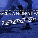 La Agrupación Deportiva Nuevo Baztán consigue el reconocimiento para ser Escuela Federativa