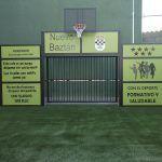 Instalación de nueva pista multideportiva en el Polideportivo Municipal de Nuevo Baztán