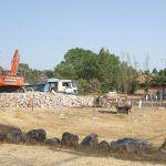 Reunión para tratar la solución del Tratamiento de residuos de las obras de canalización de Eurovillas