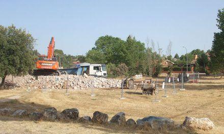 Gestión de residuos obra del Canal Isabel II
