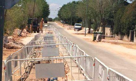 Finalizan 5 fases de las Obras de la nueva red de distribución de agua de Eurovillas