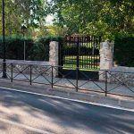 Cierre temporal de la puerta Parque Municipal