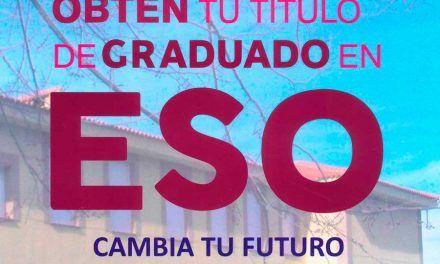 Obtén el título de Graduado en ESO en la Escuela de adultos