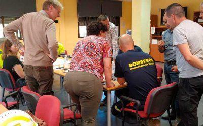 Reunión de coordinación con el CECOP y Canal de Isabel II para la evacuación de aguas
