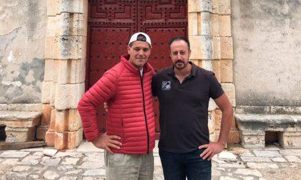 El equipo de rodaje de WILDFRANK visita Nuevo Baztán