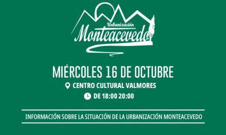 Reunión vecinal para la urbanización Monteacevedo