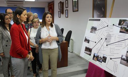 La Ministra de Industria, Comercio y Turismo, Dña. Reyes Maroto ha visitado Nuevo Baztán