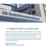 El 21 enero el Hospital Universitario del Sureste se acerca a Nuevo Baztán