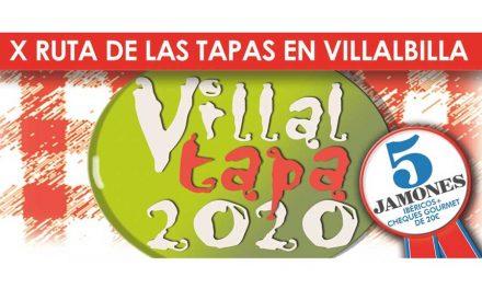 El Ayuntamiento de Villalbilla invita a los vecinos de Nuevo Baztán a la X Ruta de la Tapa