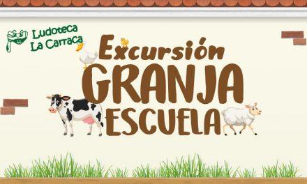 La ludoteca La Carraca se marcha a la Granja Escuela El Álamo en el mes de abril