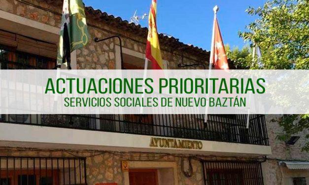 Acciones prioritarias del departamento de Servicios Sociales del Ayuntamiento desde el 15 de marzo