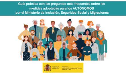 Guía práctica para autónomos del Ministerio de Seguridad Social