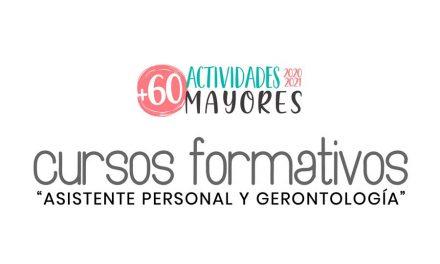"""Cursos formativos """"Asistente Personal y Gerontología"""""""