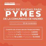 Línea de Ayudas para Pymes de la Comunidad de Madrid