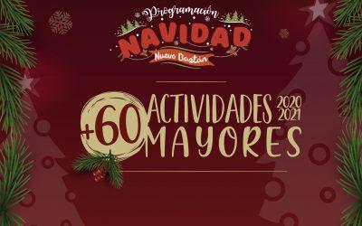 Actividades de Mayores de 60 para esta Navidad 2020