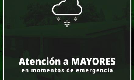 Nota informativa: La atención a nuestros Mayores en momentos de Emergencias