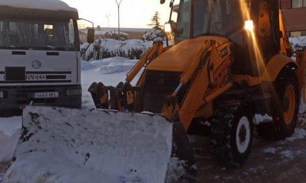 Nota informativa: Continúan los trabajos por las calles de Nuevo Baztán