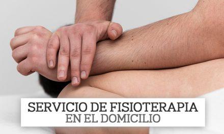 Servicio de Fisioterapia para nuestros mayores en el domicilio